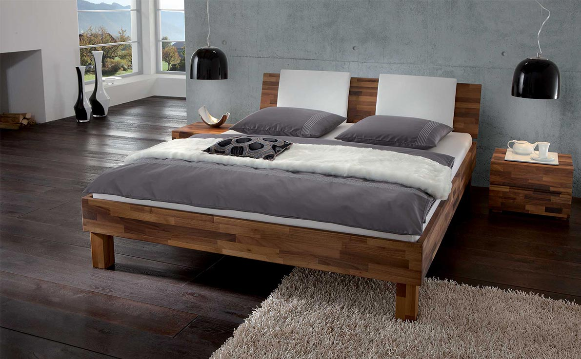cadres de lit literie libau. Black Bedroom Furniture Sets. Home Design Ideas